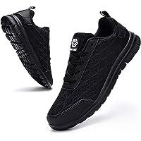 Ziboyue Zapatos de Seguridad Hombre Mujer Impermeable Calzado de Trabajo con Punta de Acero Ligeros Transpirable…