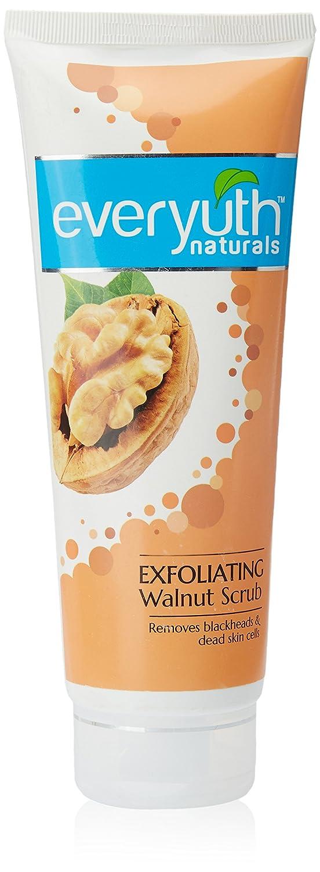 Everyuth Naturals Exfoliating Walnut Scrub with nano Multi Vit A, 200g