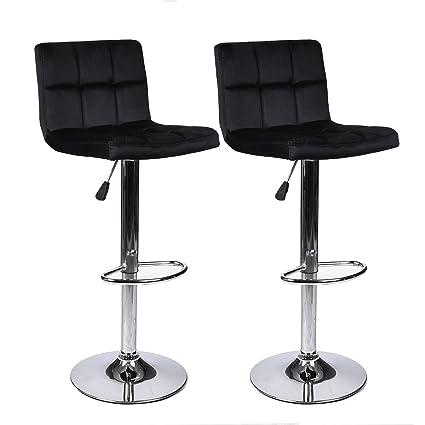 Astounding Amazon Com Elecwish Bar Counter Stool Adjustable Swivel Ibusinesslaw Wood Chair Design Ideas Ibusinesslaworg