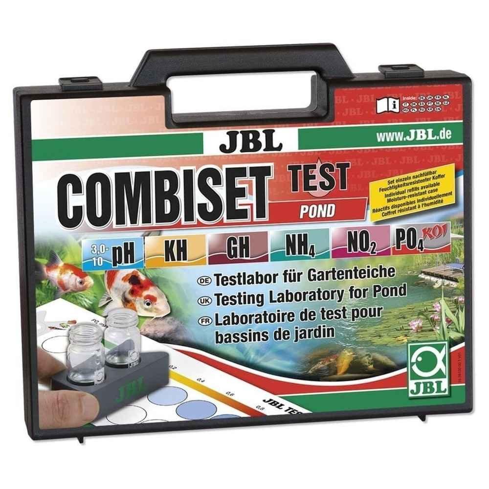 JBL Test Combi Set Pond, Les tests d'eau les plus importants pour les bassins de jardin 2810000