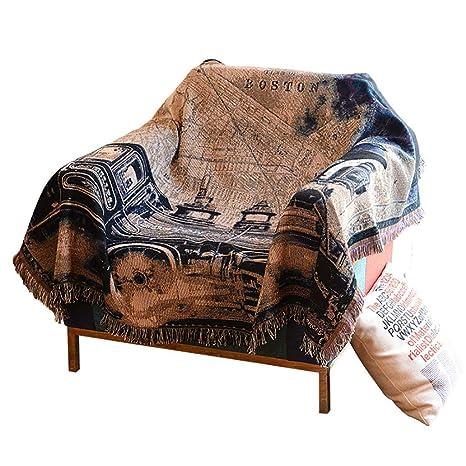 Fundas de sofá Toalla de sofá Four Seasons Manta de sofá de ...
