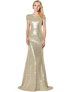 3edd15d872f Belle House Women s Prom Dresses Long Sequins Formal Evening Dresses Ball  Gowns