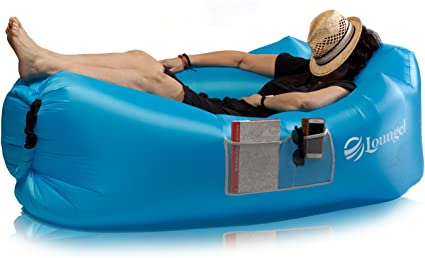 Amazon.com: Privilege Tumbona inflable de sofá por Loungel ...