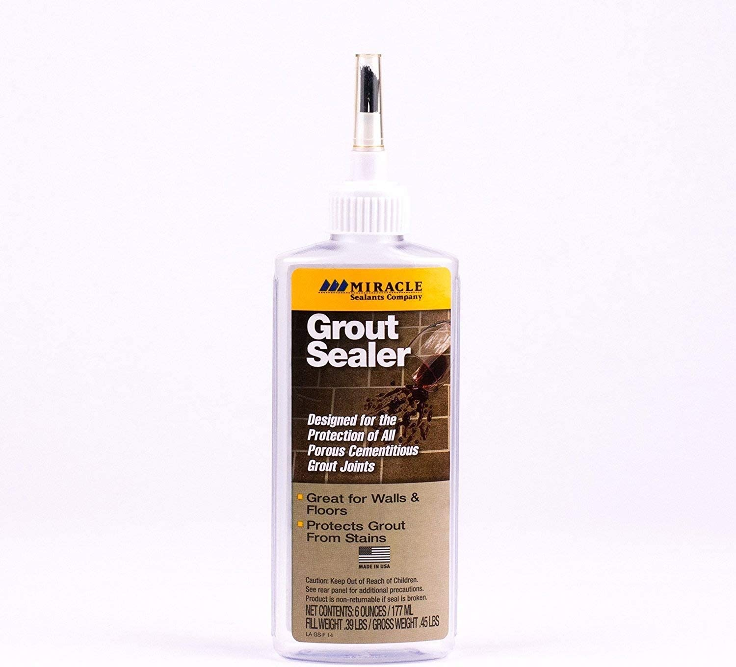 - Miracle Sealants GRT SLR 6-Ounce Grout Sealer, 6-Ounce, Sealers