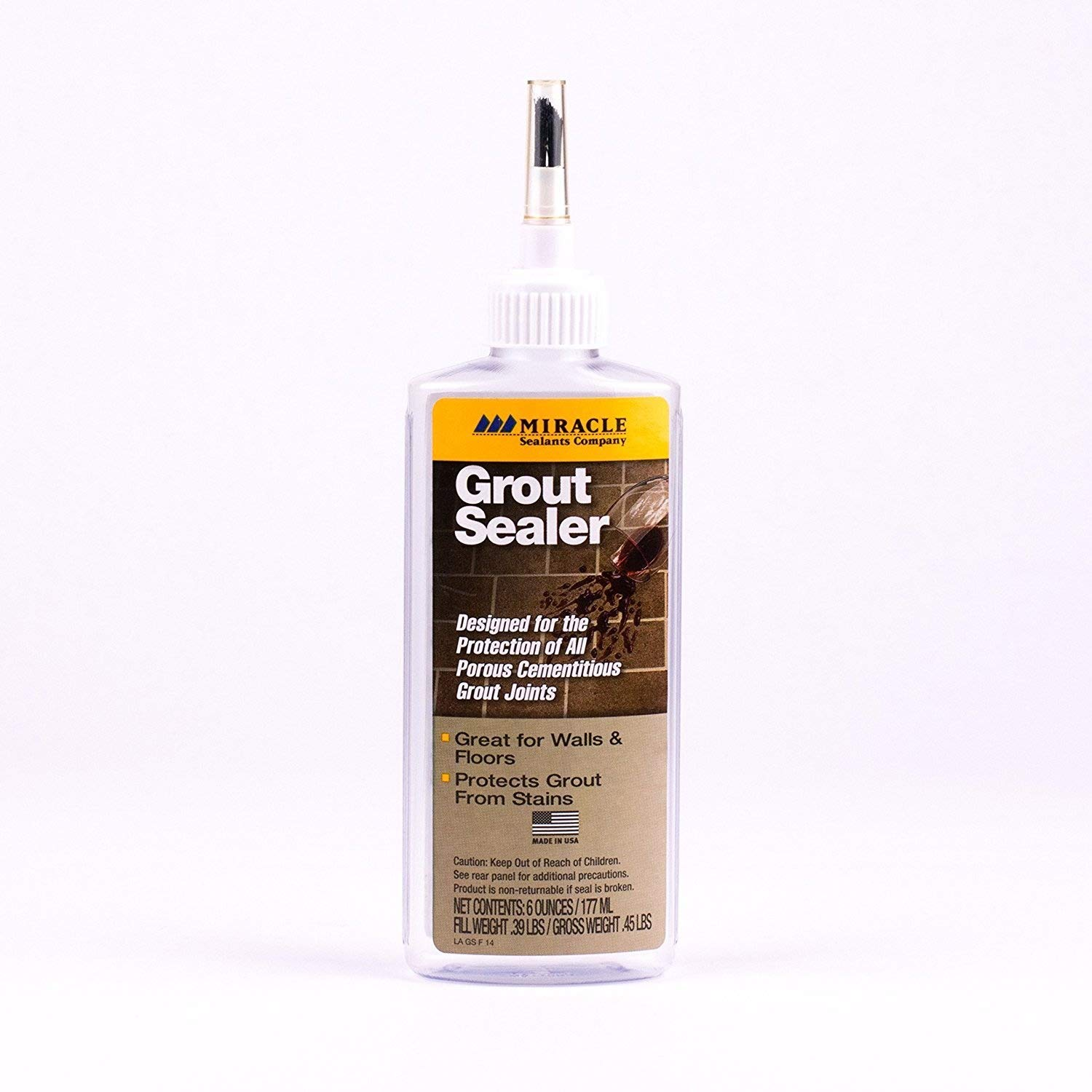 1.Miracle Sealants GRT SLR 6 Ounces Grout Sealer