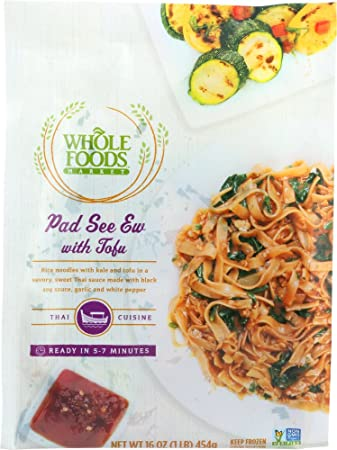 whole foods market pad see ew with tofu 16 oz frozen amazon