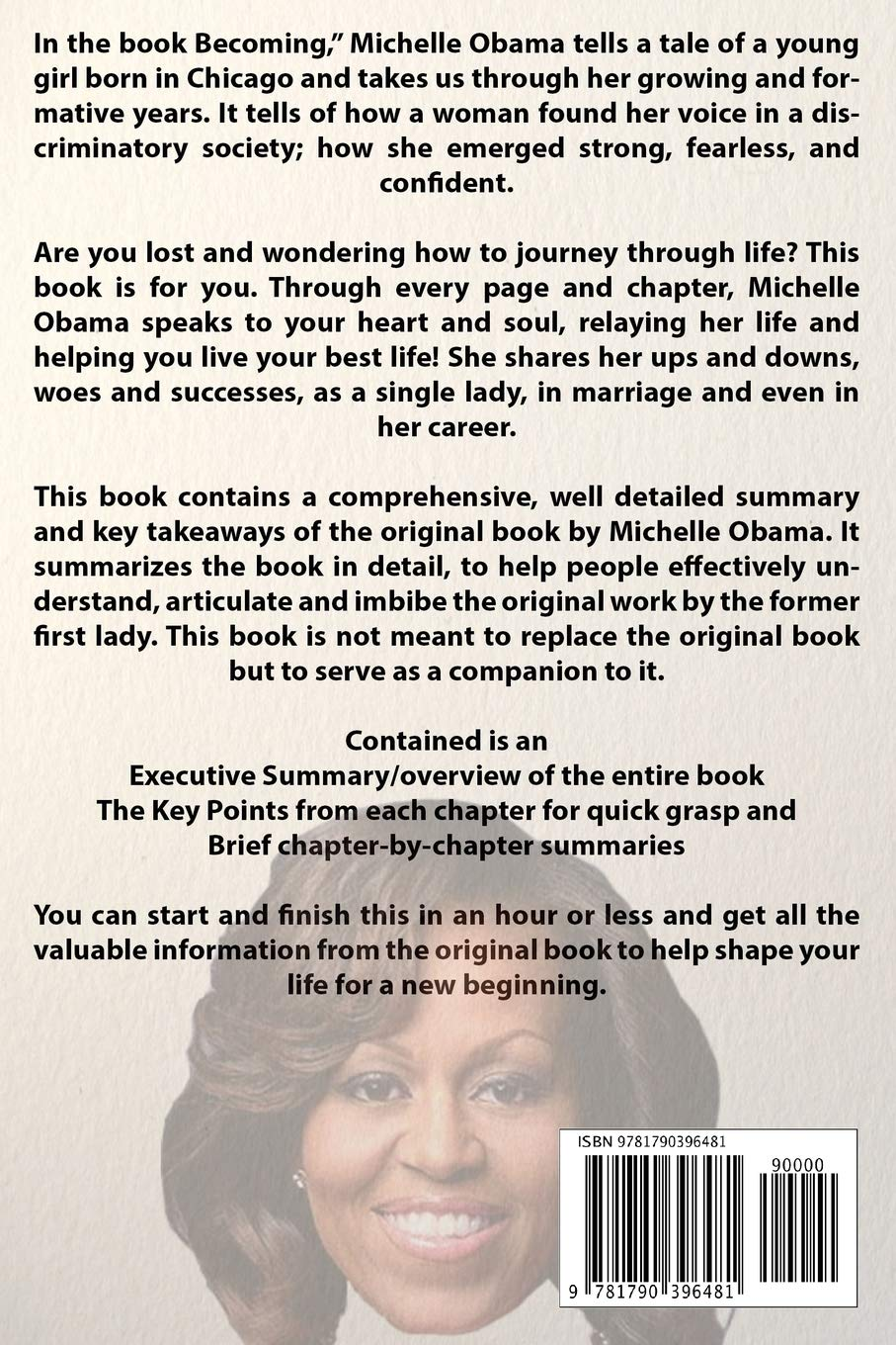 Summary of Becoming by Michelle Obama: Amazon co uk: Book Addict