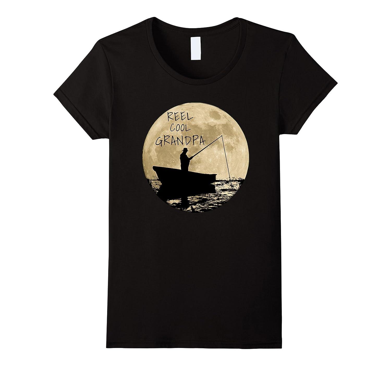 Reel Cool Grandpa shirt Asphalt-Teechatpro
