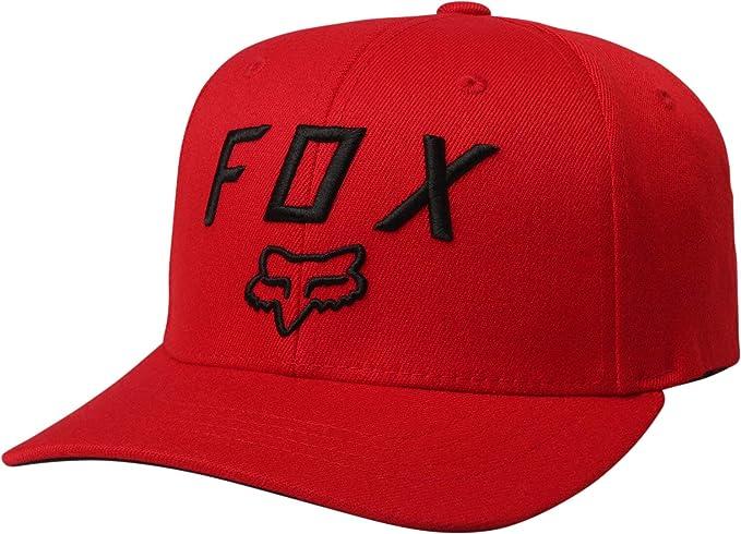 243dc5281 Fox Racing Legacy Moth 110 Snapback Hat-Dark Red