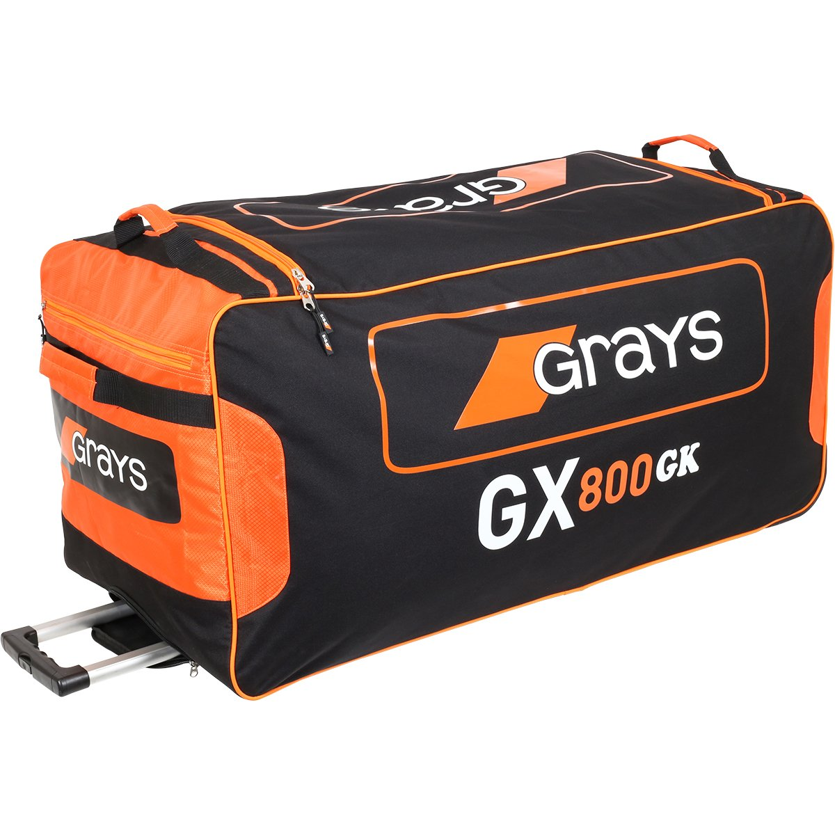 GRAYS GX800 GOALIE HOCKEY BAG - ORANGE/BLACK