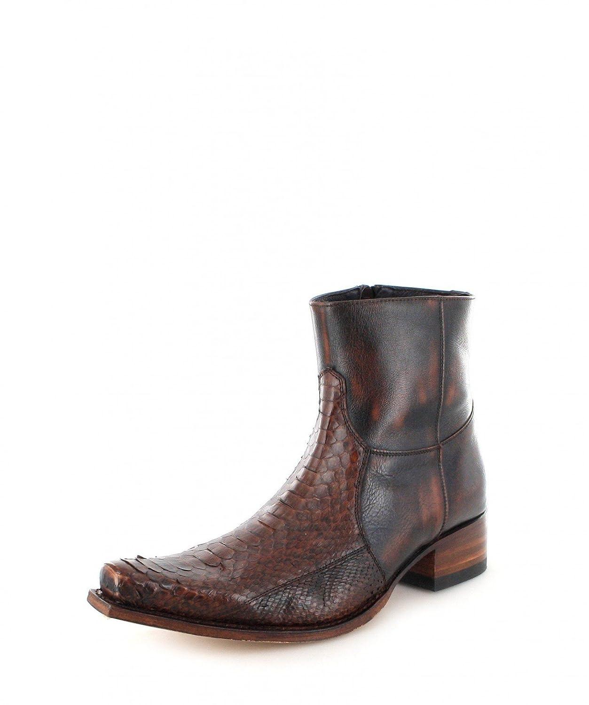 Sendra Boots 5701P - Náuticos de cuero para hombre 46 EU|marrón - Piton C540 Jacinto