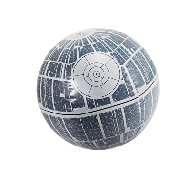 "14"" Gray Star Wars Death Star Large Light Up Inflatable Beach Ball Swimming Pool Toy: Toys & Games"