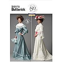 Butterick B5970 Patrón de Costura [en inglés, alemán