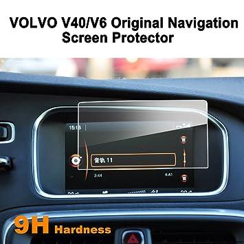LFOTPP Volvo V40 V60 7 pulgadas Navegación Protector de pantalla - 9H Cristal Vidrio Templado GPS