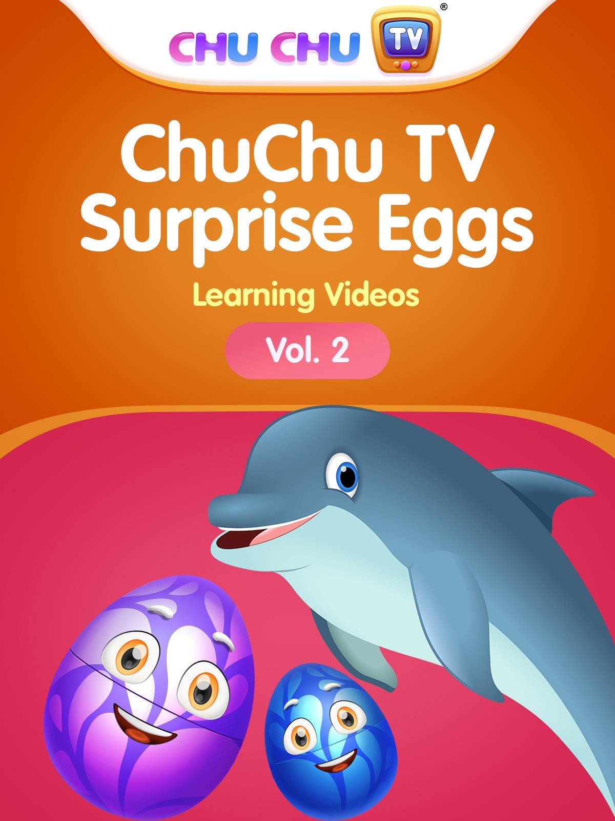 ChuChu TV Surprise Eggs Learning Videos - Vol. 2