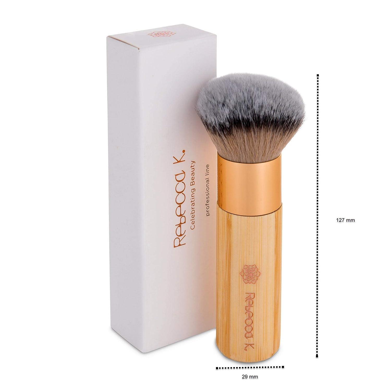 Kabuki Makeup Brush, Foundation Brush, Powder Brush, Pro Makeup Brush, Synthetic hair, Cruelty Free: Beauty