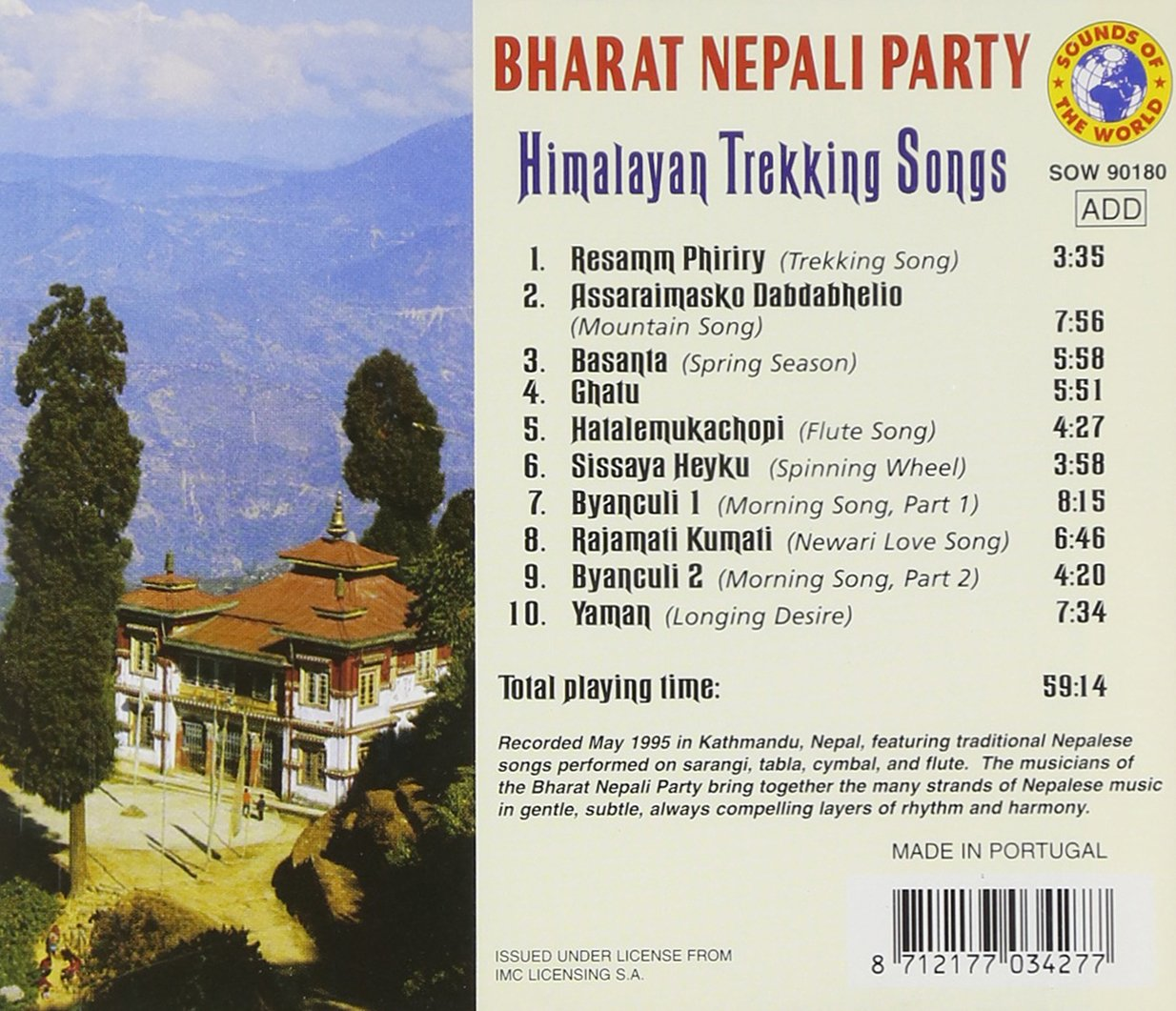 Himalayan Trekking Songs: Bharat Nepali Party: Amazon.es: Música