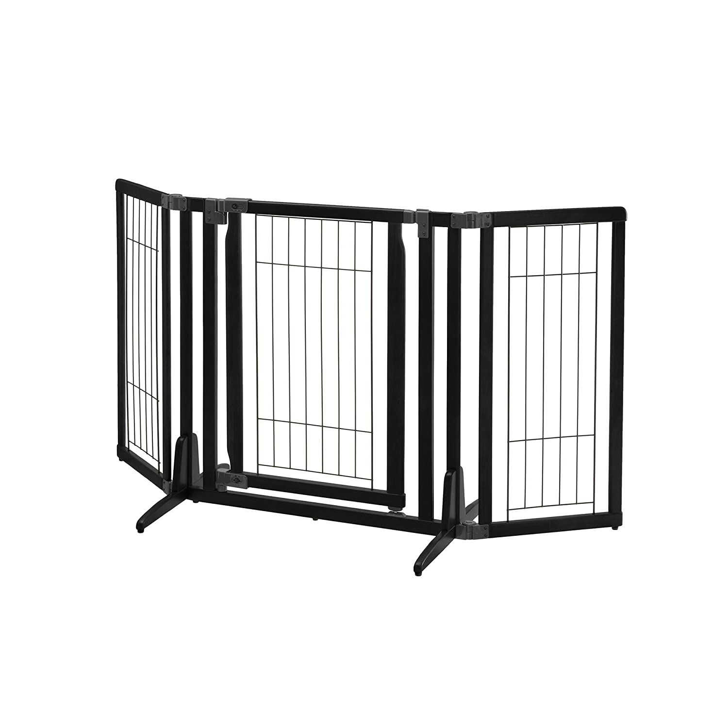 Black Richell 94956 Pet Kennels and Gates