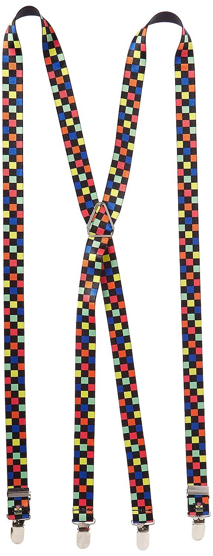 Buckle-Down Suspender Checkered