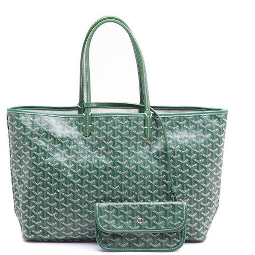 Agote Women Fashion Shipping Shoulder Tote Bag Set (GREEN.)