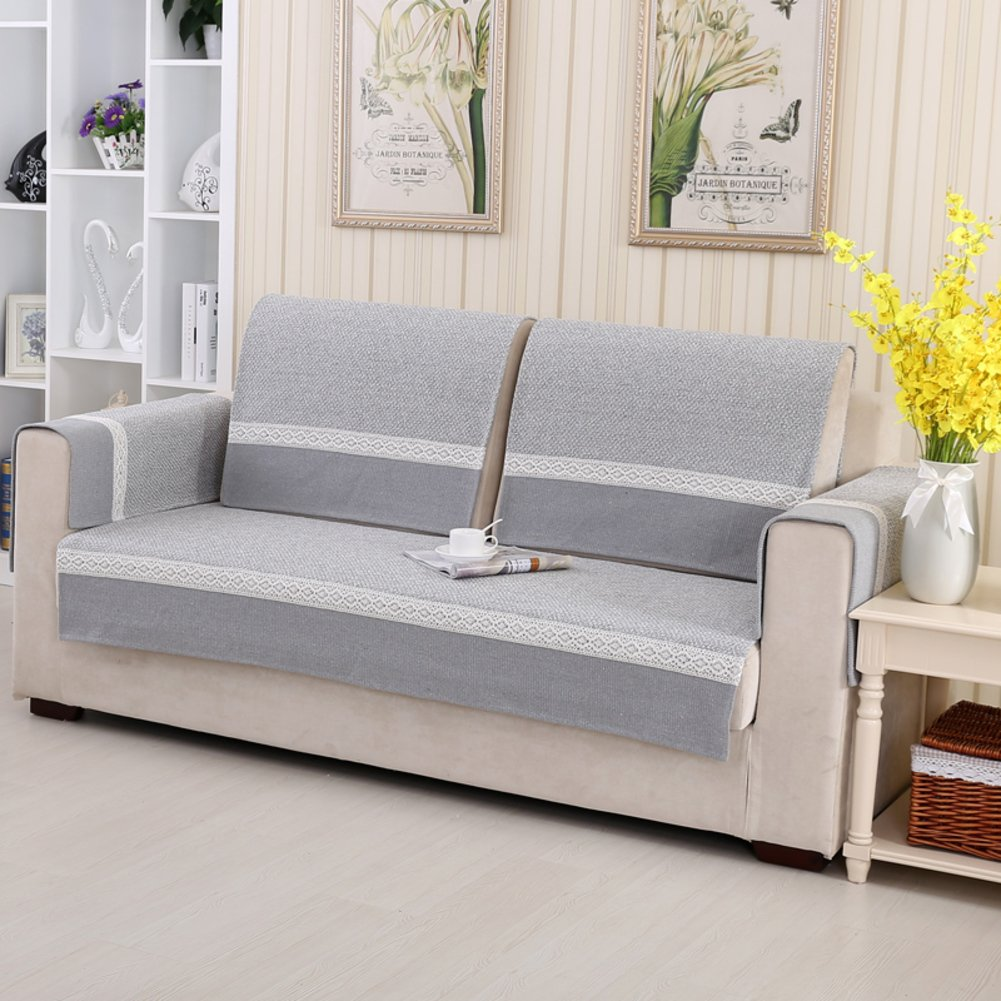 Amazon.com: YQ WHJB Summer Sofa Towel,Cotton Sofa Cover ...
