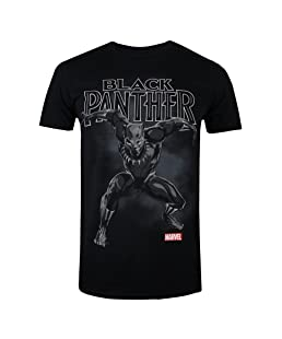 Black Panther Strike, T-Shirt Homme, Noir