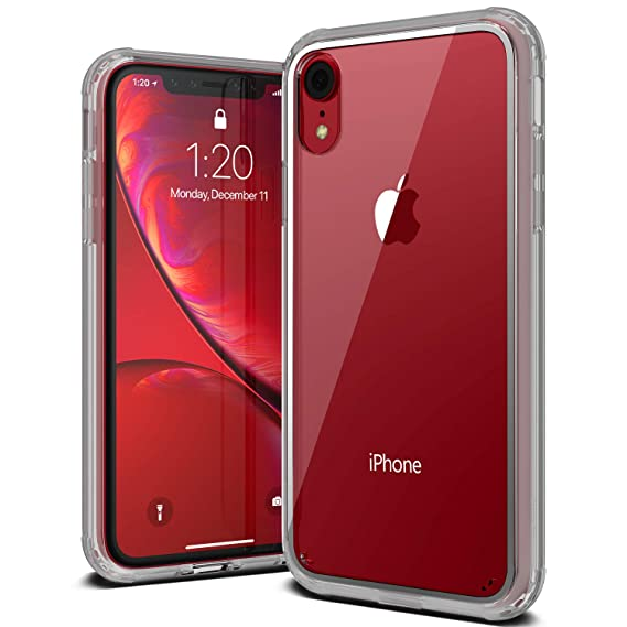 clear front and back phone case iphone xr