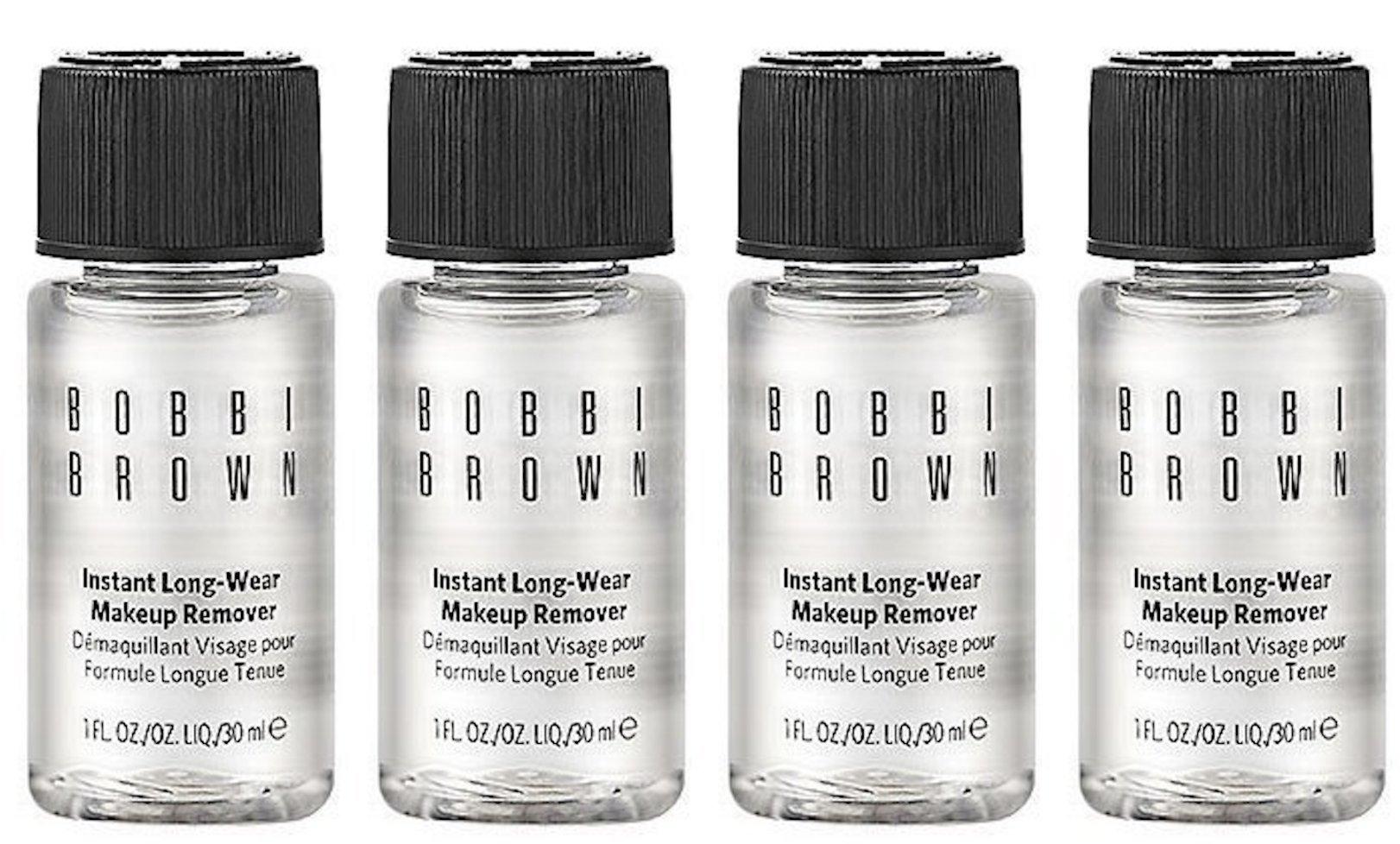 Bobbi Brown Instant Long-Wear Makeup Remover 1oz/30ml Each Lot of 4 by Bobbi Brown
