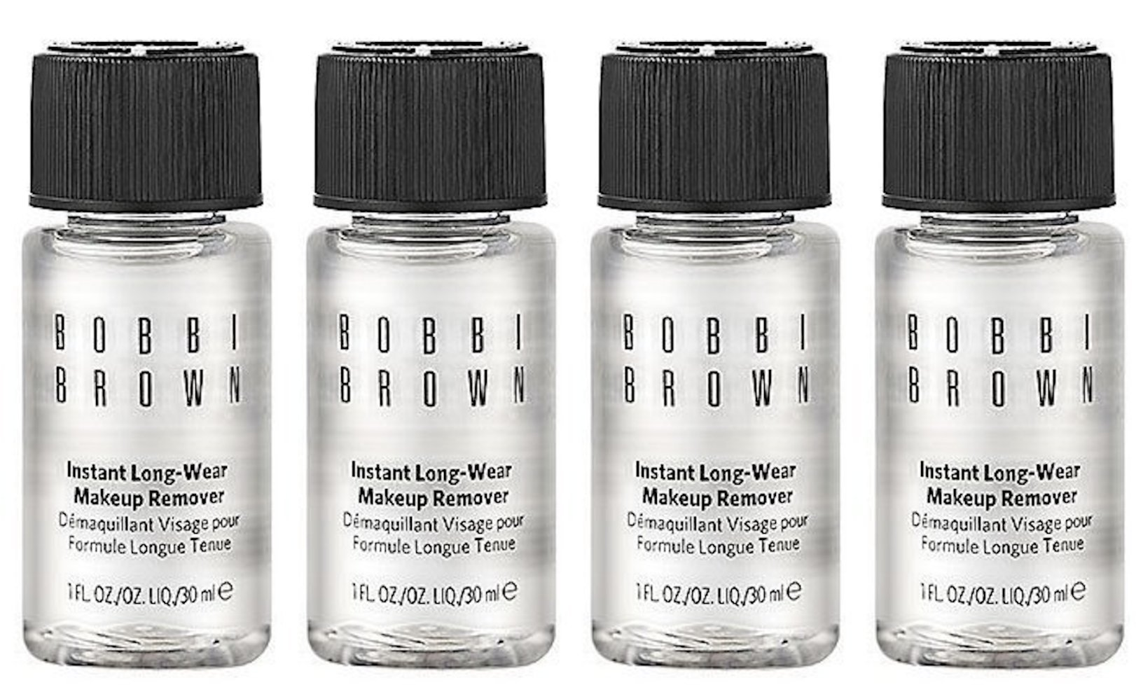 Bobbi Brown Instant Long-Wear Makeup Remover 1oz/30ml Each Lot of 4