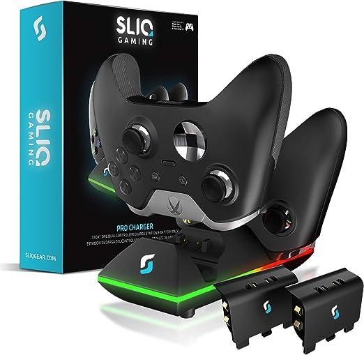 Sliq Xbox One/One X/One S estación de carga y paquete de batería ...