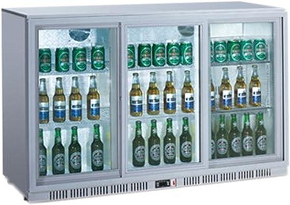 Botella Frigorífico con 3 puertas correderas Frigorífico getränkekühlsc hrank gewerbe Frigorífico 330 L invitados rokühl Armario: Amazon.es: Grandes electrodomésticos