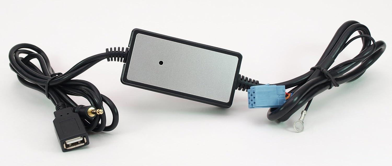 Usb Aux Mp3 Adapter Für Vw Beta 5 Gamma 5 Premium 5 Elektronik