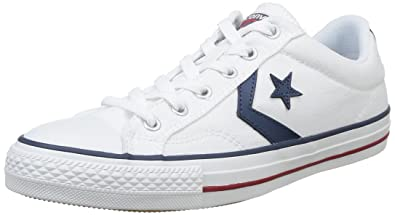 size 40 bcdfa 89b75 Converse SP Core Ox, Baskets Basses Mixte Adulte, (Blanc Noir),