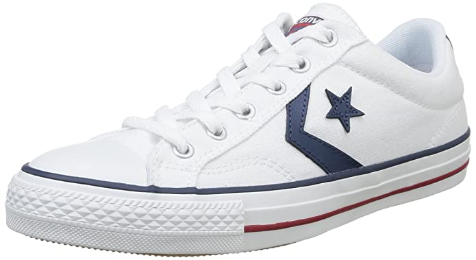 Converse Star Player Low Top Unisex Grau Weiß