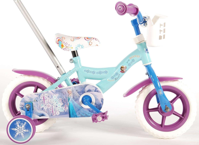 Disney 51061 - Bicicleta Frozen con asa corredera, vehículos en ...
