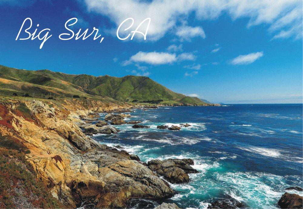 Amazon.com: Big Sur California, Ca, Océano Pacífico ...