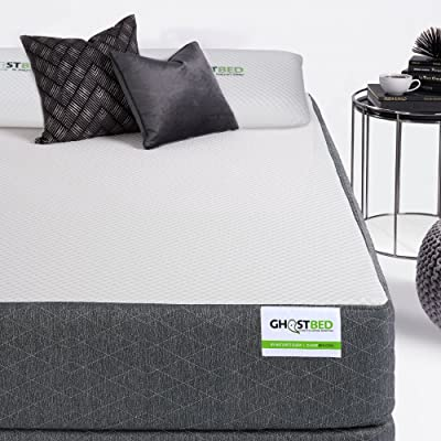GhostBed 11-Inch Latex and Gel Queen Memory Foam Mattress