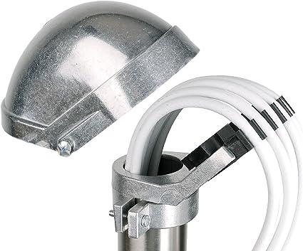 Tapa para mástil-DuraSec de Line Maka 50Aluminio-Cabezal de impresión de aluminio fundido-Top Calidad