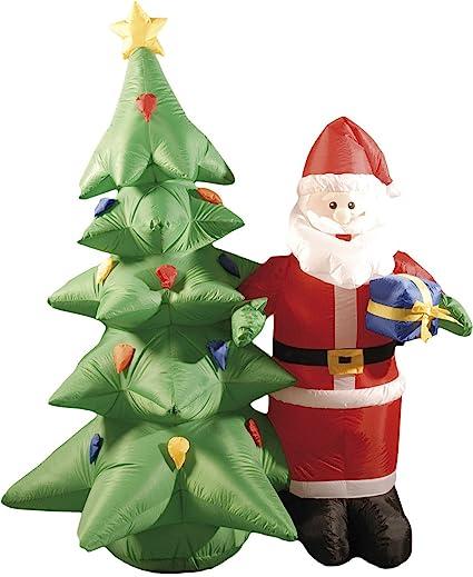 Festive Productions 226474 - Figura Hinchable de árbol de Navidad ...