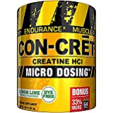 CONCRET Creatine HCL Lemon Lime 33% More - 67 g