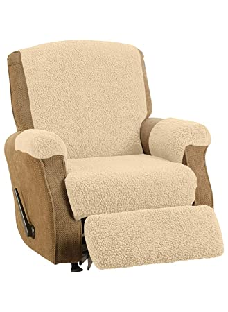 Fleece Recliner Cover Color Natural  sc 1 st  Amazon.com & Amazon.com: Fleece Recliner Cover Color Natural: Kitchen u0026 Dining islam-shia.org