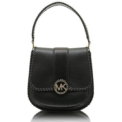 412ec95c7537a Michael Kors Lillie 30F8G0LM8E Damen Handtasche Henkeltasche Schultertasche  Partytasche Abendtasche Umhängetasche (Black)