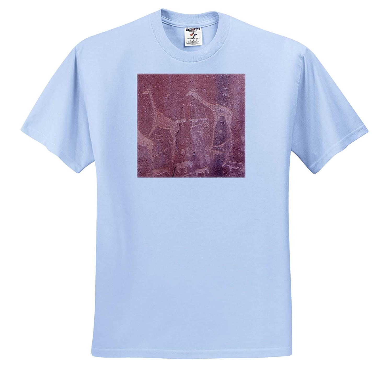 Twyfelfontein Ancient Rock Art - Adult T-Shirt XL ts/_310457 Africa 3dRose Danita Delimont Namibia Petroglyphs