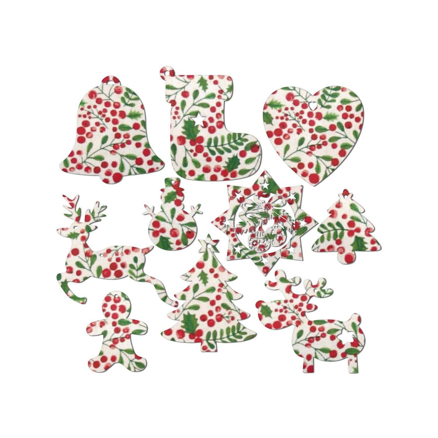 Amazon Blue Christmas Holly Berries 2 01 Christmas Wooden