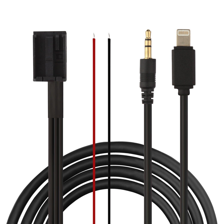 Eximtrade 3, 5mm AUX Audio Musique Câ ble pour Ford Autoradio 6000CD Visteon 5mm AUX Audio Musique Câble pour Ford Autoradio 6000CD Visteon