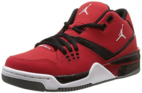 finest selection f85e6 d40f5 JORDAN FLIGHT 23 (3.5Y-7Y) GYM RED WHITE BLACK GREY SIZE 6