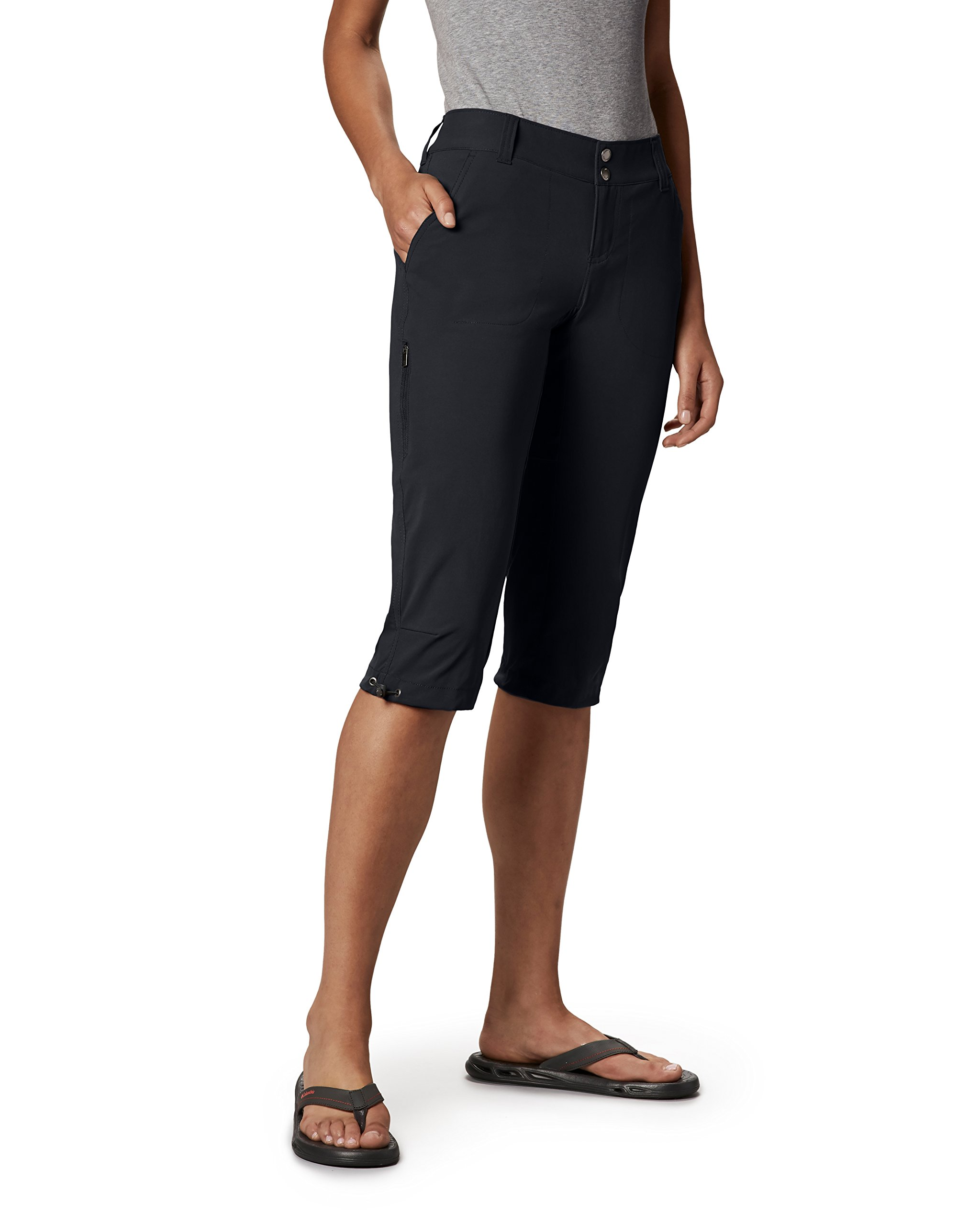 Columbia Women's Saturday Trail Ii Knee Pant, Black, 10