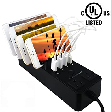 Review USB Charging Station Dock