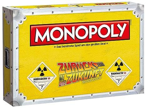 Winning Moves win44277 Monopoly: Regreso al Futuro, Juego