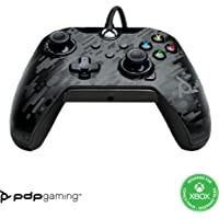 PDP Gaming Wired Controller: Phantom Black - Xbox Series X S, Xbox One, PC